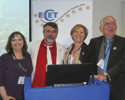 ECET Board to arrange a guest session during the EWMA 2015 conference in London. This was the beginning of a new ECET.