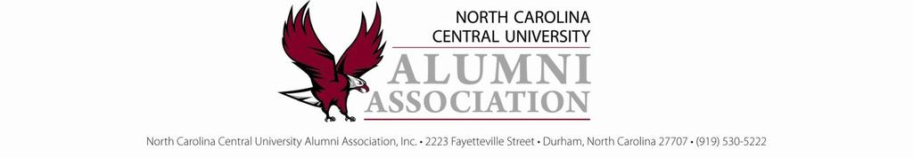 January 20, 2018 Dear NCCU Alums, The Mr. and Mrs. Alumni Contest for the Fiscal Year 2018-2019 has officially begun. This year Homecoming is scheduled for November 3, 2018.