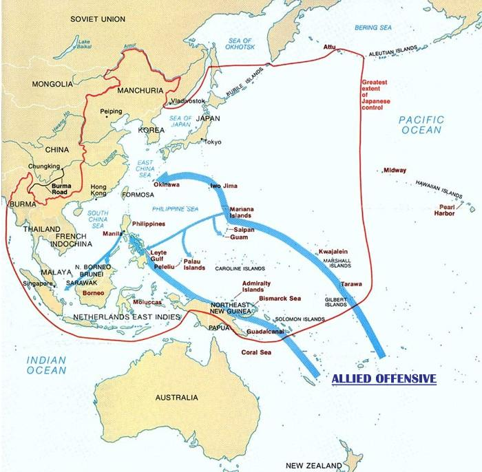 Pearl Harbor Japan launched a surprise attack on the American Naval Base.