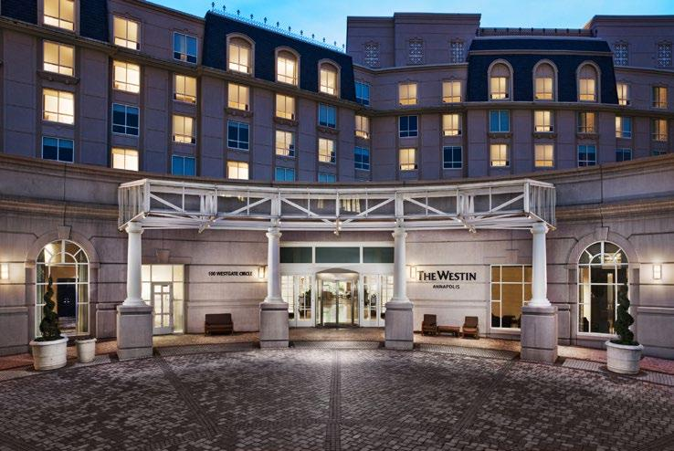 2018 MML Fall Conference Hotel Information The Westin Annapolis 100 Westgate Circle, Annapolis, MD 21401 Your guest room at the Westin Annapolis Hotel features the renowned Heavenly Bed and new