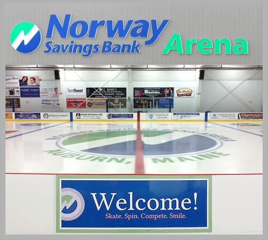 AUBURN RECREATION SUMMR 2017 Page 29 Come check out the Norway Savings Bank Ice Arena!