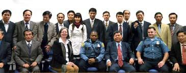 College Hosts Visitors from Vietnam s International Programs office hosted 21 Vietnamese Ministers of Public Safety as part of a short term program from December 4 16.